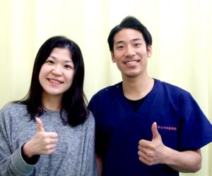松戸市東松戸 慢性の頭痛・肩の痛み 30代 女性 Y.M様 写真