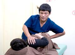 坐骨神経痛施術写真2